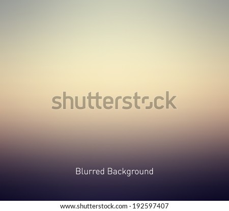 abstract blur unfocused style