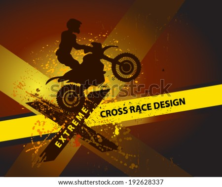 motocross background motorbike