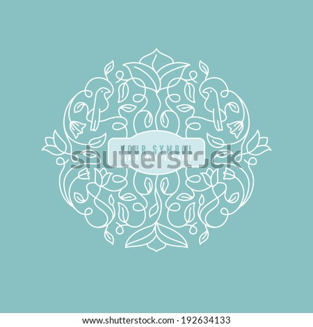 vector abstract wedding