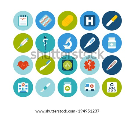 flat icons vector set 18