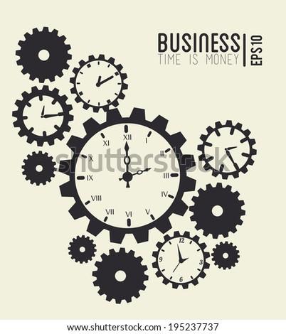 time design over beige