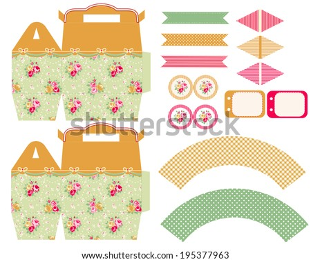 Vector Cupcake Wrapper Template Free Vector Download 14 922 Free