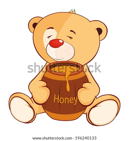 a stuffed toy bear cub and a