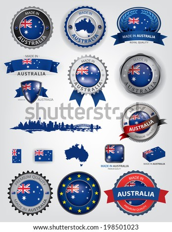 made in australia seals