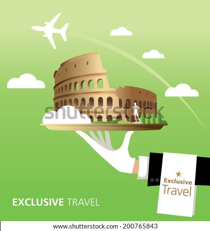 exclusive  colosseum  italy