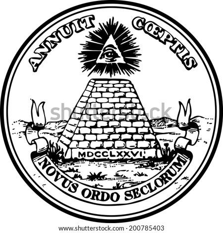 dollar  great seal  pyramid eye