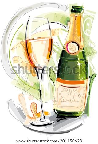 sylvester champagner