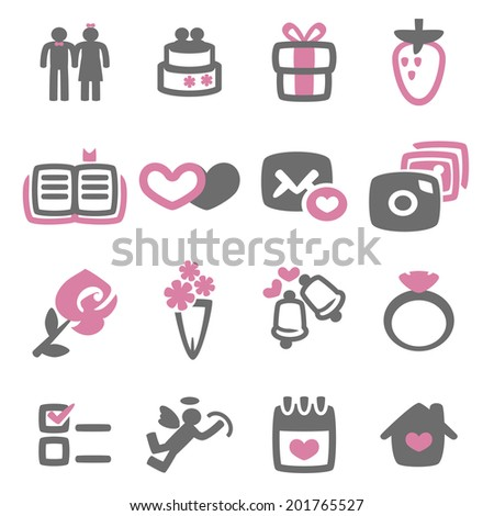 vector file of wedding icon