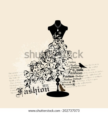 vector fashion background