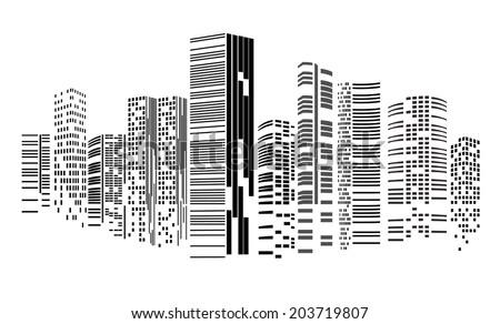 vector design   eps10 building