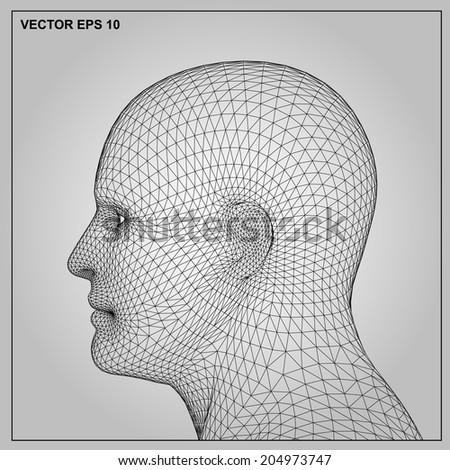 vector concept or conceptual 3d