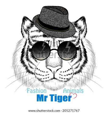 fashion tiger head design