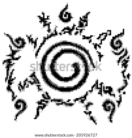 conjugate nine tailed fox in