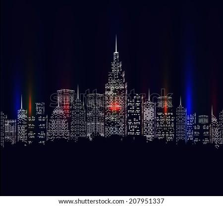 city colourful