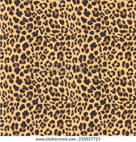 leopard seamless pattern design