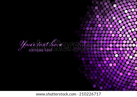 vector background with purple