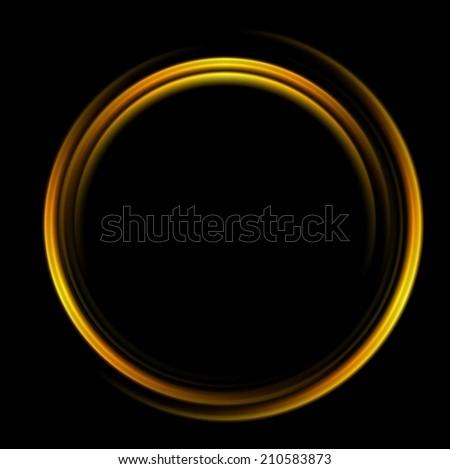 bright abstract circle logo