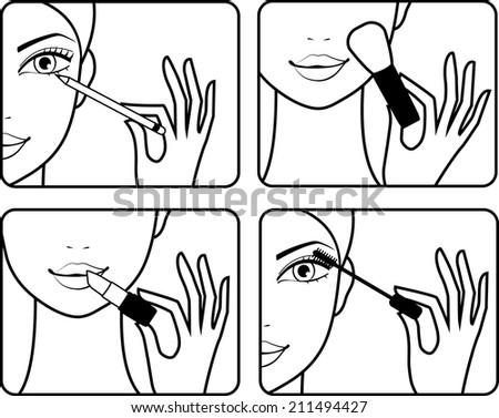 makeup step by step instructions