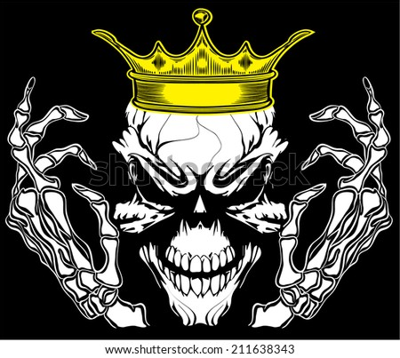 Skull King Vector Free Vector Download 976 Free Vector For