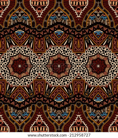 vector abstract ethnic indian