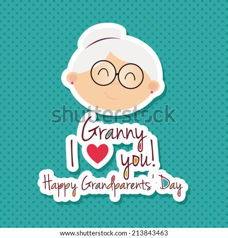 abstract grandparents day