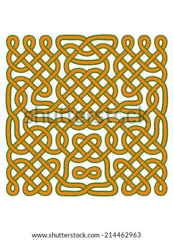 celtic orange knots