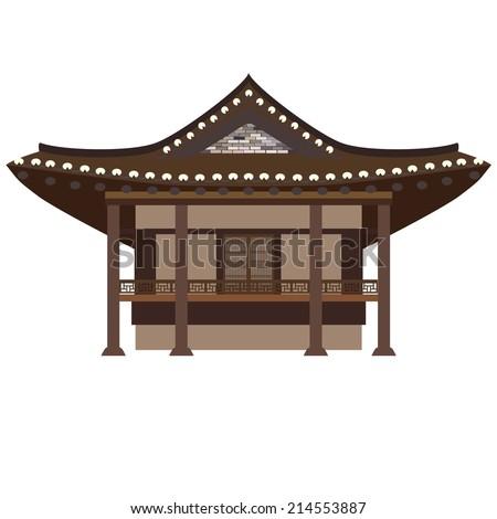 traditional asian house korean