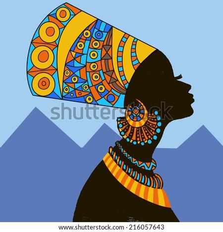 egyptian woman