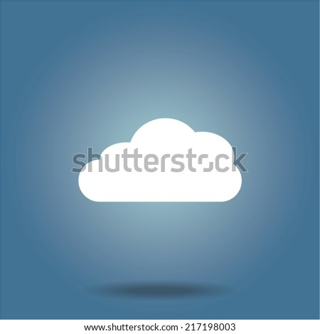cloud icon  vector illustration