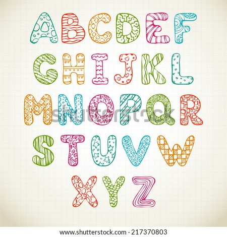 Pictures Of Cute Alphabet Letters To Draw Kidskunst Info