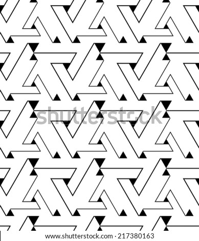 geometric contrast maze