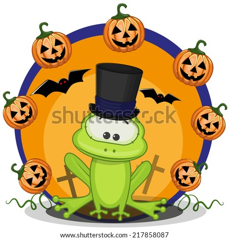 halloween illustration of
