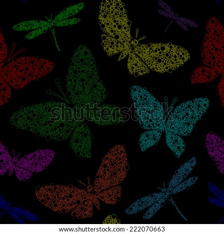 colorful butterfly and