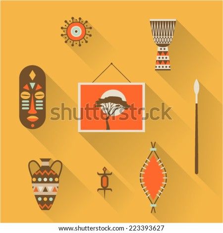 vector illustration icon set of