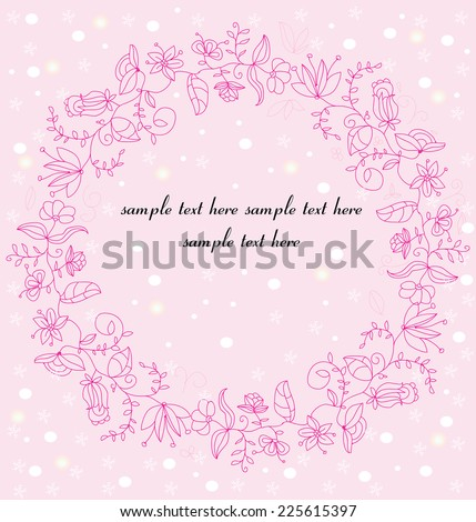 decorative background with a