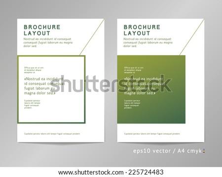 brochure   leaflet   cover