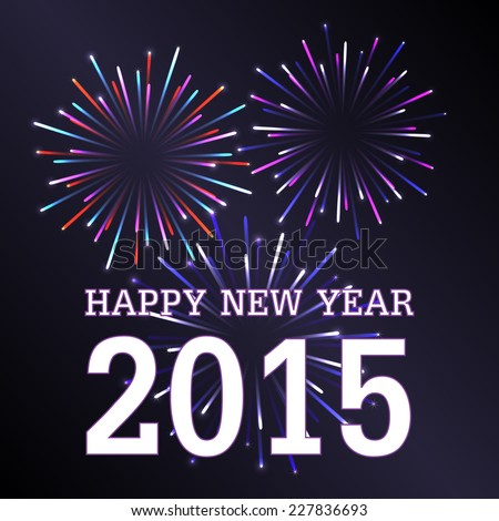 happy new year 2015 with