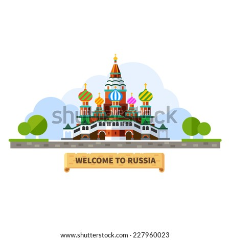 welcome to russia moscow