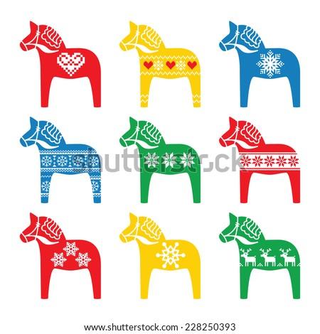 swedish dala  dalecarlian horse