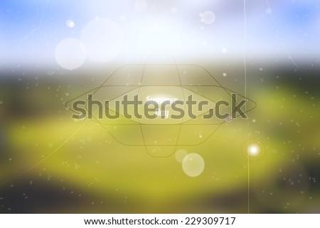 blurred vector summer field