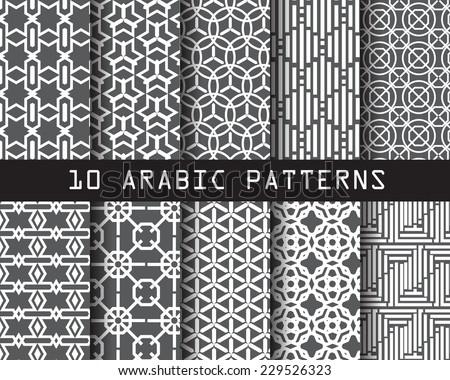 10 arabic patterns   pattern