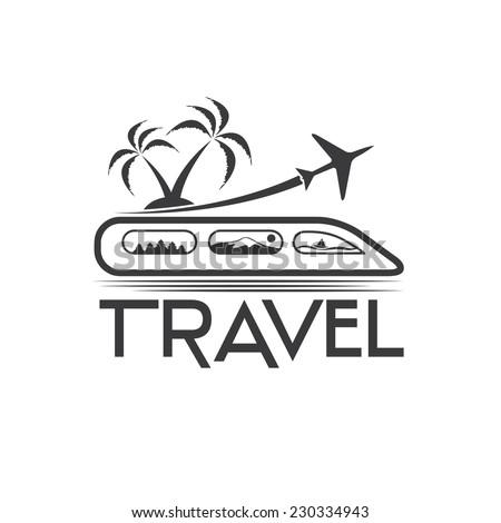 travel vector design template