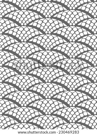 scales seamless vector pattern