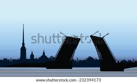 st petersburg landmark  russia