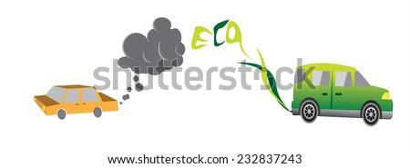 smoke versus green fuel