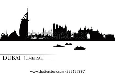 dubai jumeirah skyline
