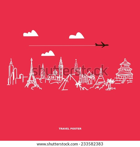 travel and tourism poster
