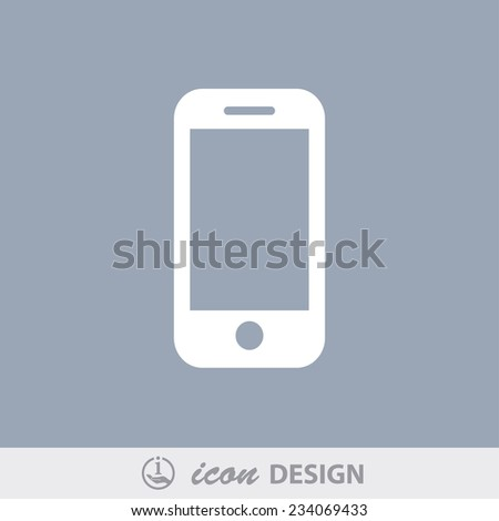 pictograph of mobile