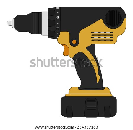 electric cordless hand drill