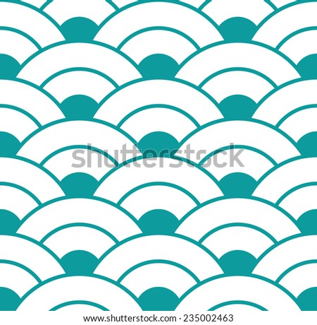 abstract blue seamless wave